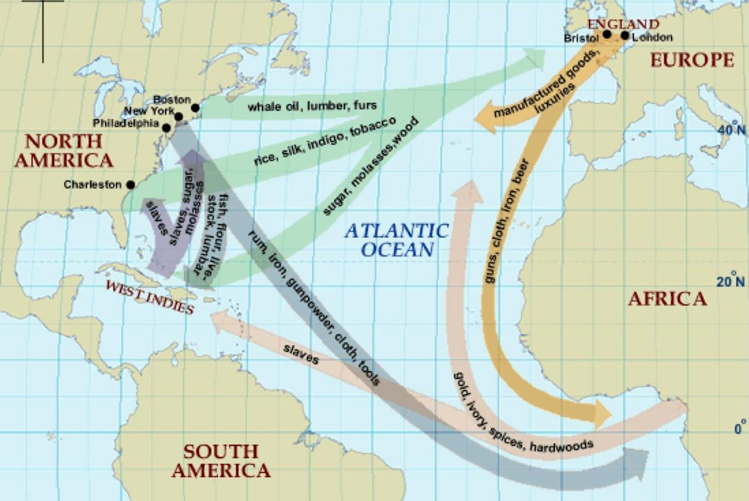 describe the effect of colonization on africans and native americans from 1492 through the 1700s The turning point: european conquests of the americas (1492-1800) the discovery of america, and that of the passage to the east indies by the cape of good hope, are the two greatest events recorded in the history of [human] kind.