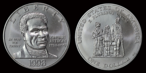 Crispus Attucks coin