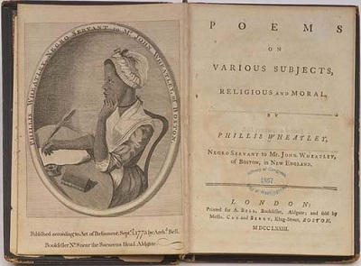 Phillis Wheatley: poetry, fame and slavery